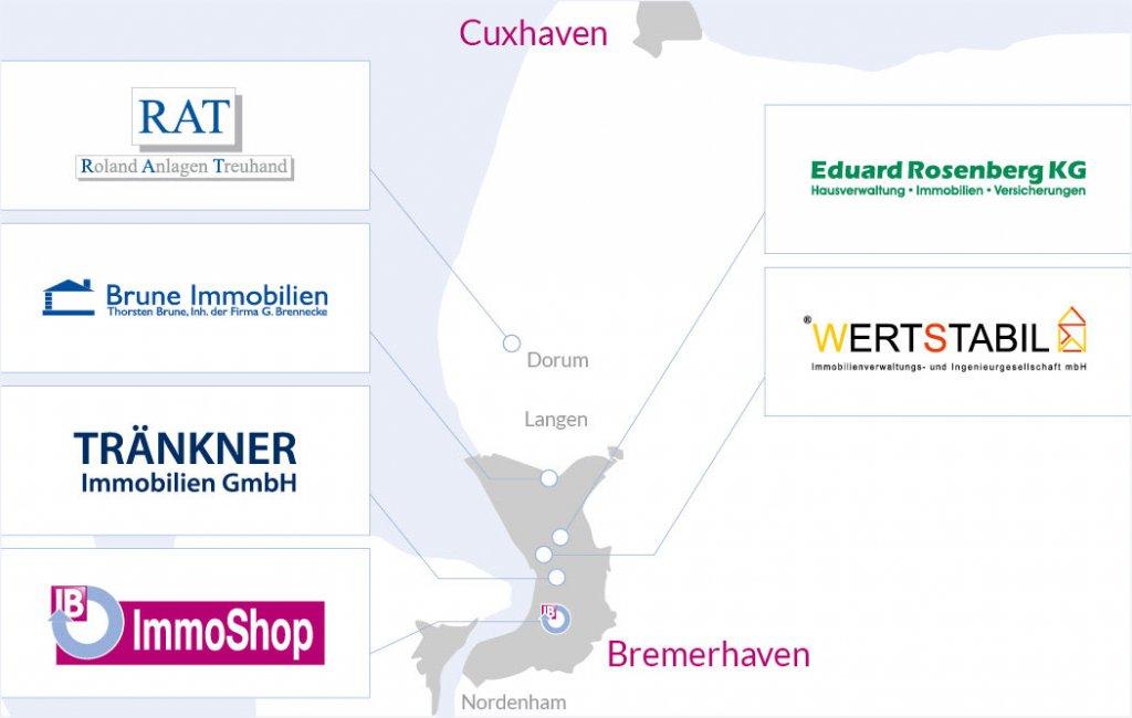 Immoboerse Bremerhaven Karte 2018