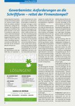 Gewerbemiete: Anforderungen an die Schriftform – rettet der Firmenstempel?