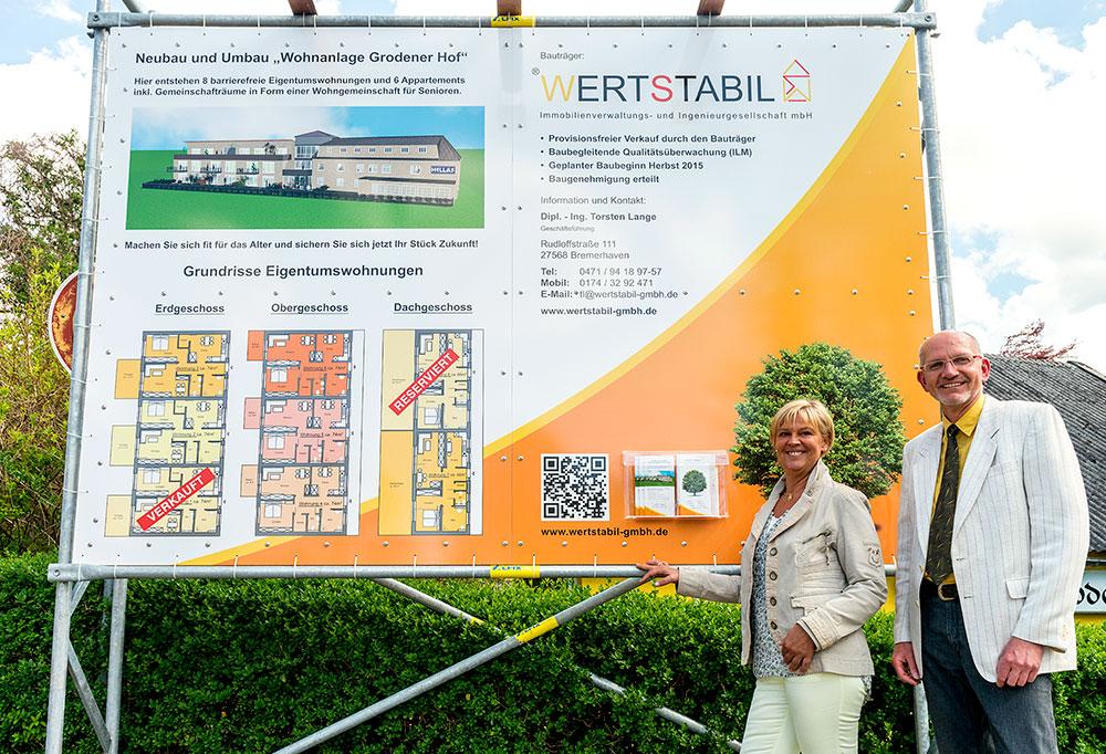 """Wertstabil - Neu und Umbau der """"Wohnanlage Grodener Hof"""""""